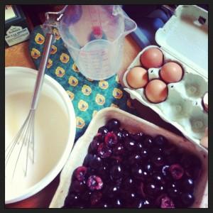 Ingredients recette clafoutis