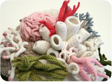 Corail au crochet - Nabe Fabric