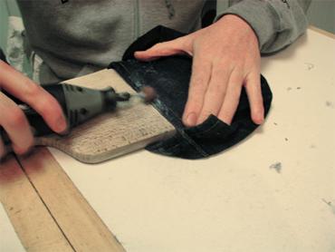 Jean vintage customisé - Etape 2