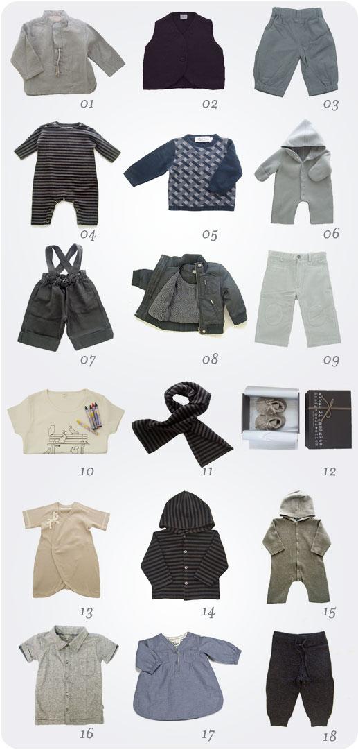 Shopping Noel vêtements unisexe et garçon Orfeo